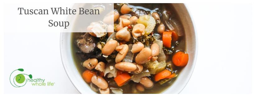 Tuscan White Bean Soup banner