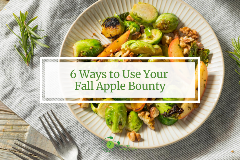 6 Ways to Use Your Fall Apple Bounty saute on plate