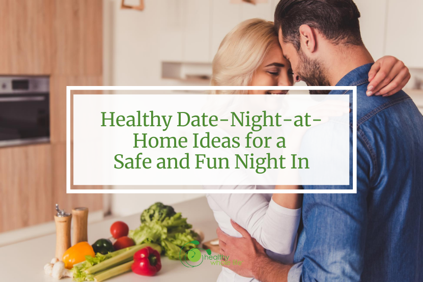 couple in kitchen date night healthy food