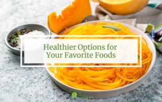 healthier options for your favorite foods squash noodles