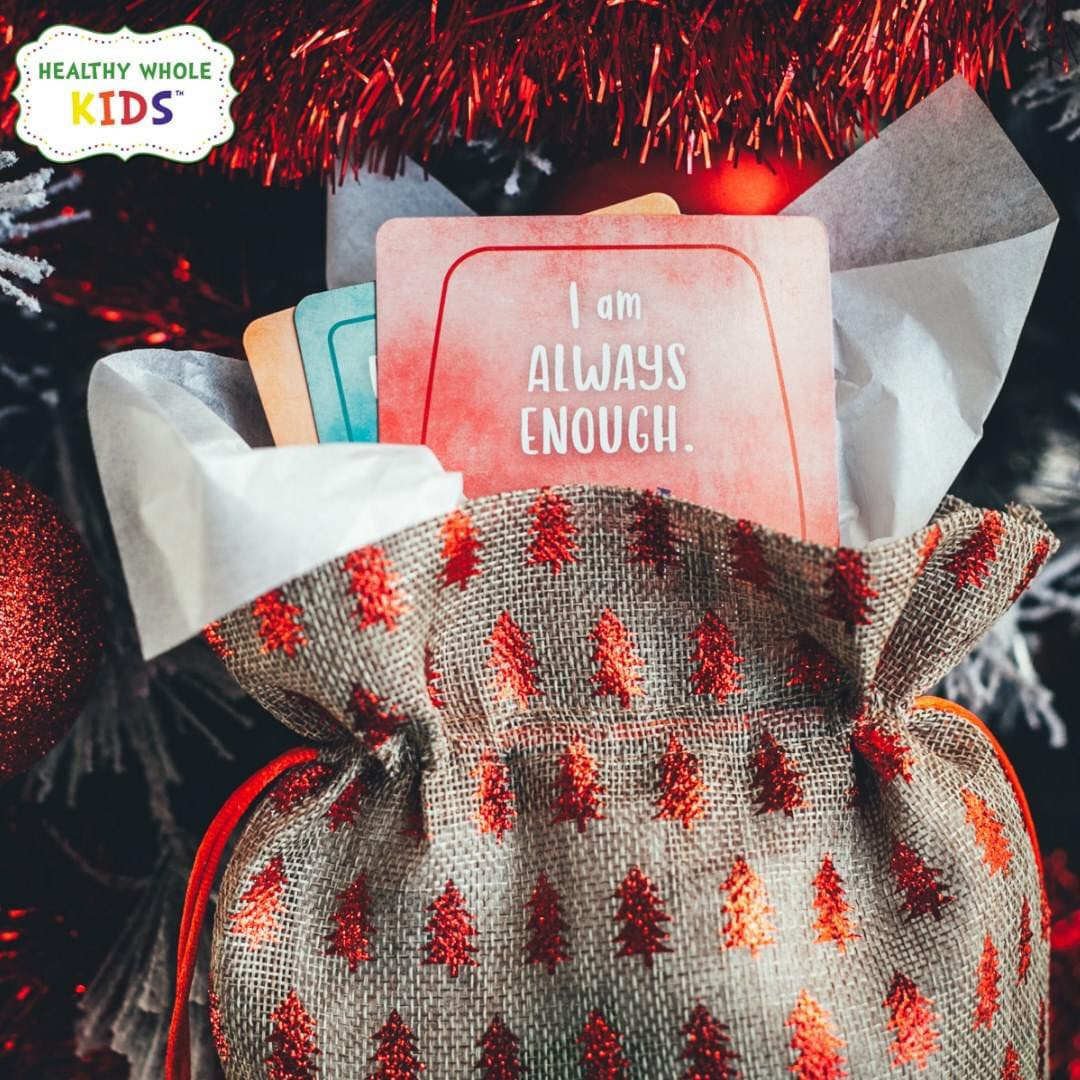christmas gift affirmation cards