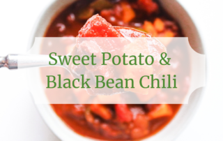 sweet potato black bean chili cover