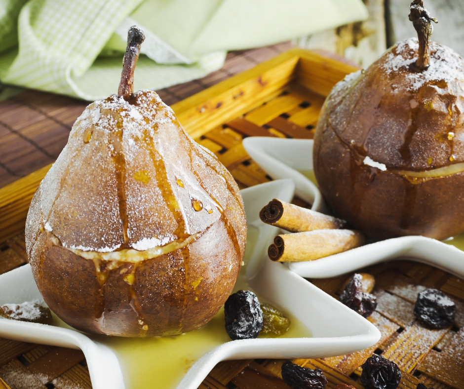 baked pears holiday