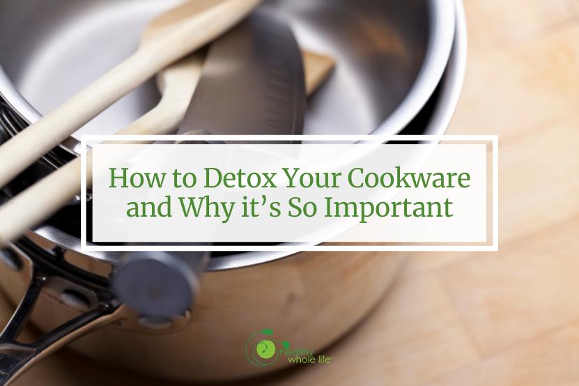 detox cookware stockpot with utensils