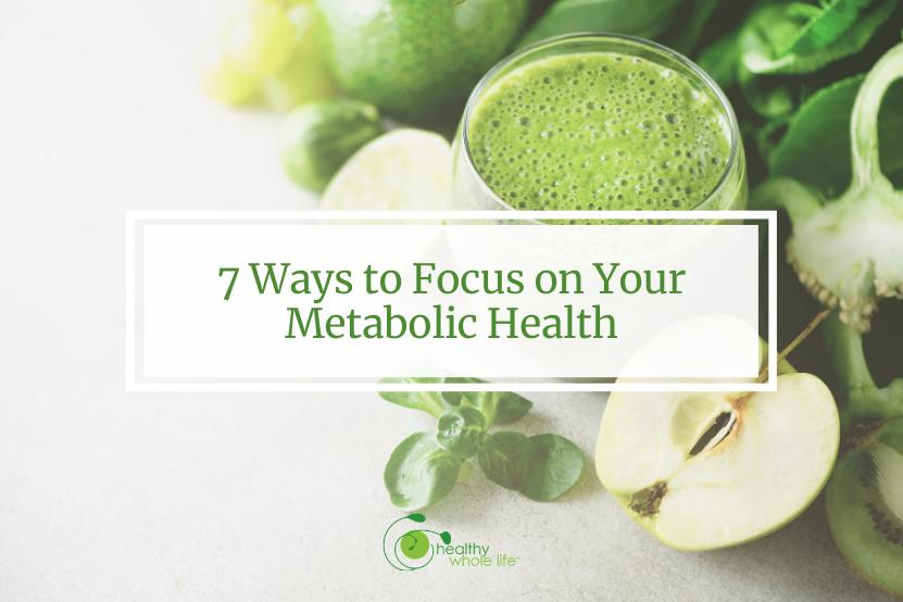 metabolic health green drink apple greens