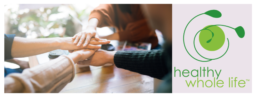 habits community support join hands