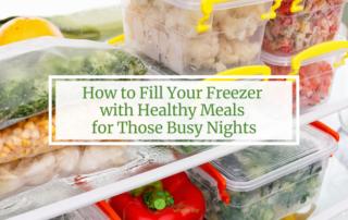 freezer meals healthy
