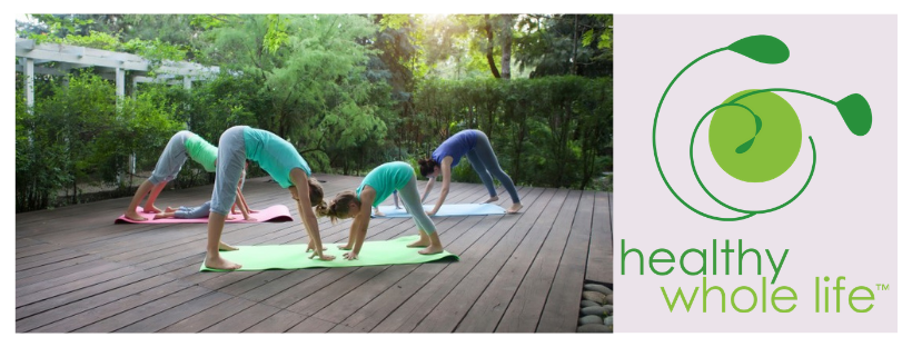 yoga mother daughter down dog