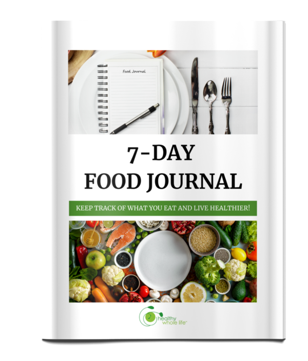 7-day food journal cover