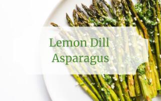 Lemon Dill Asparagus