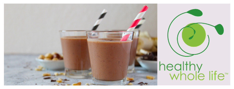 chocolate nut butter protein smoothie