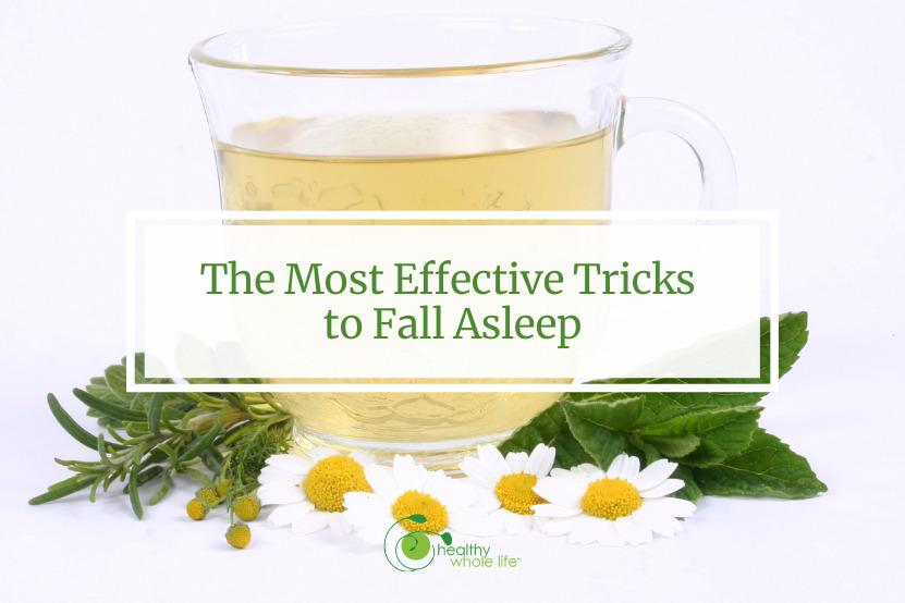 sleep better habits calming tea