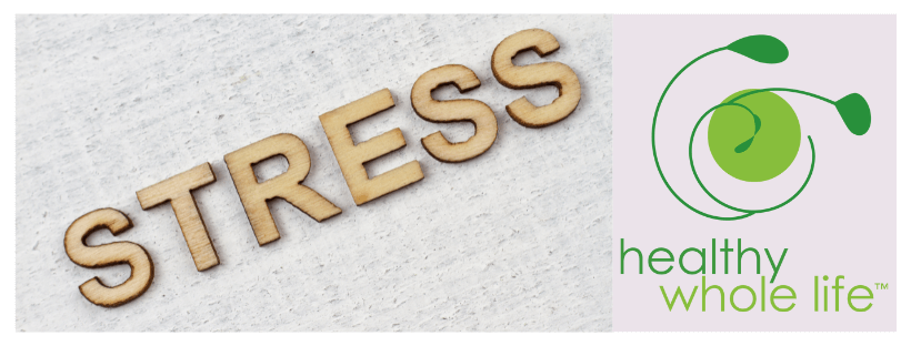 stress wooden letters