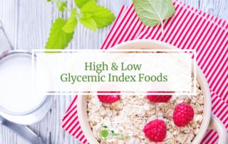 glycemic foods oats berries