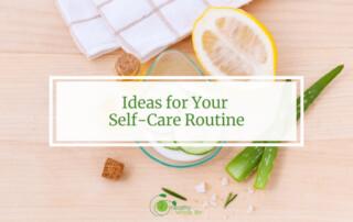 self care lemon aloe water