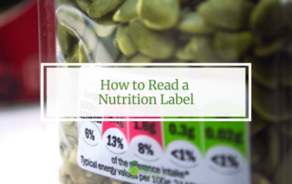 How to Read a Nutrition Label seed label