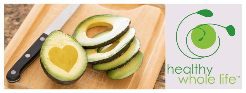 healthy fat sliced avocado