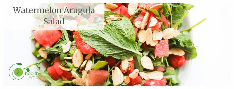 Watermelon Arugula Salad cover